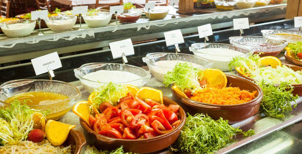 Laat u culinair verwennen in het restaurant