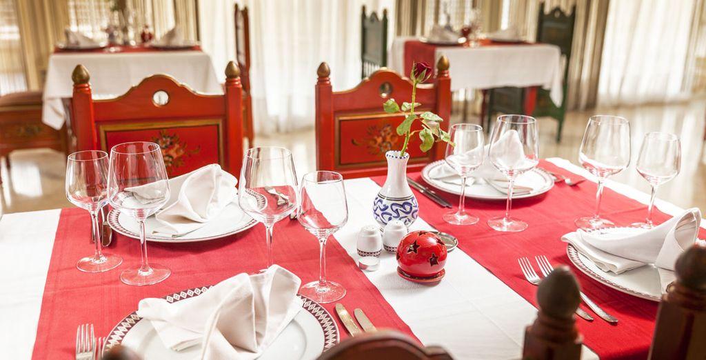 Dankzij de all-inclusive formule proeft u van de heerlijke Tunesische keuken