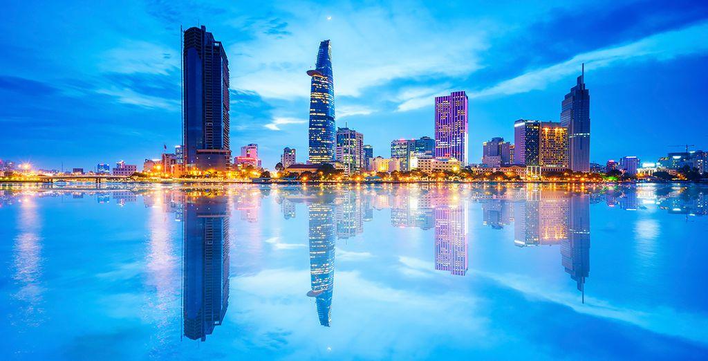 Uw avontuur begint in het bruisende Ho Chi Minh City