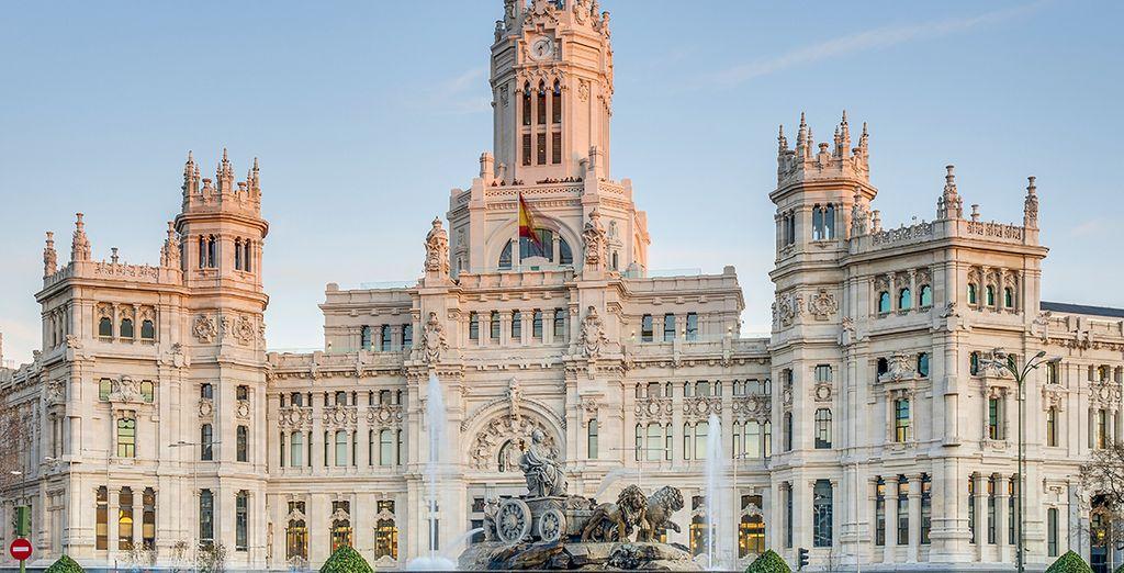 Laat u verleiden door de Spaanse hoofdstad!