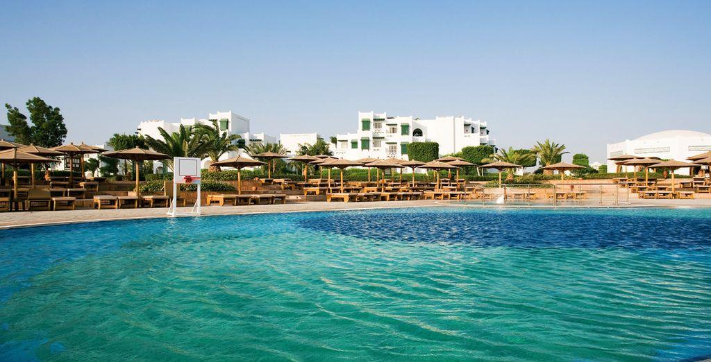 Kies voor de Club Mercure Hurghada 4* om uw vakantie in Egypte door te brengen