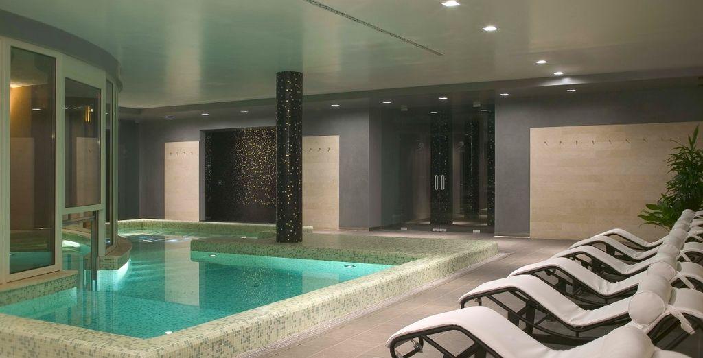 Of het wellnesscenter Notos, een oase aan rust en ontspanning