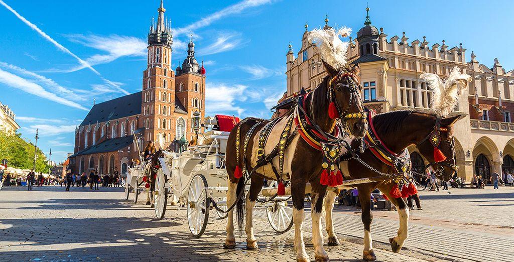 Welkom in Krakau, een stad met een rijke geschiedenis en cultuur