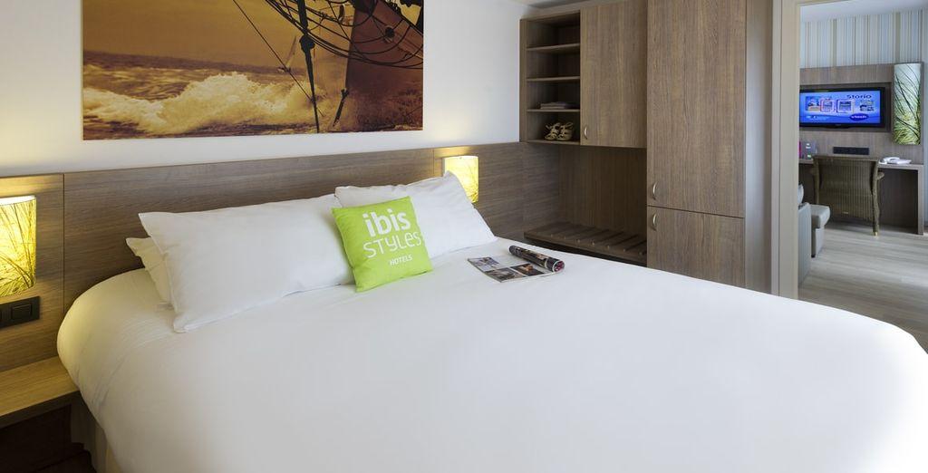 Verblijf in een comfortabele standaard kamer