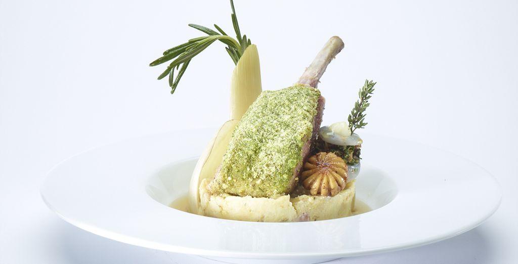 Proef de gerechten van chef Pascal Marcin !