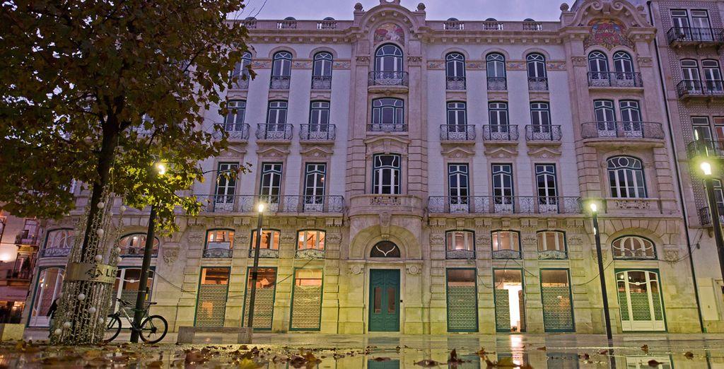 Het hotel is gevestigd in een historisch gebouw