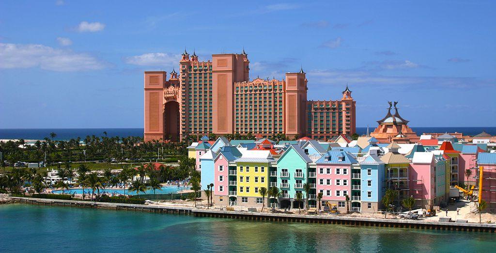 Met een bezoek aan de hoofdstad Nassau