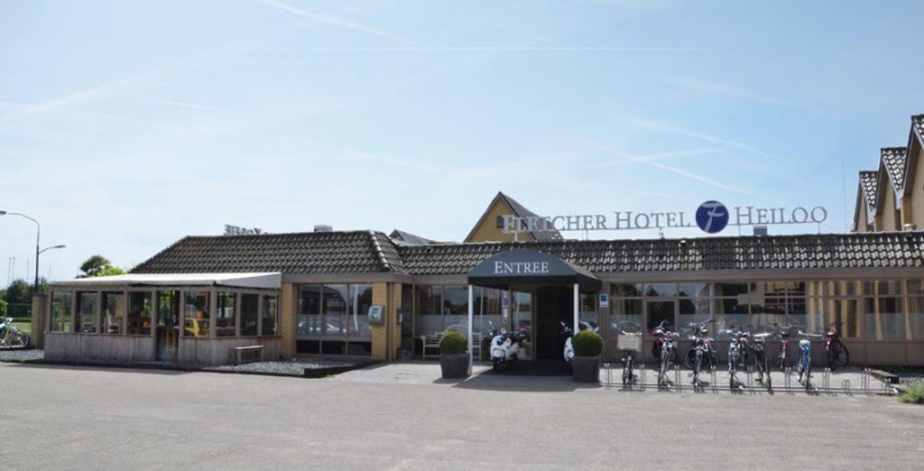 Waar u verblijft in het Hotel Restaurant Heiloo 4*