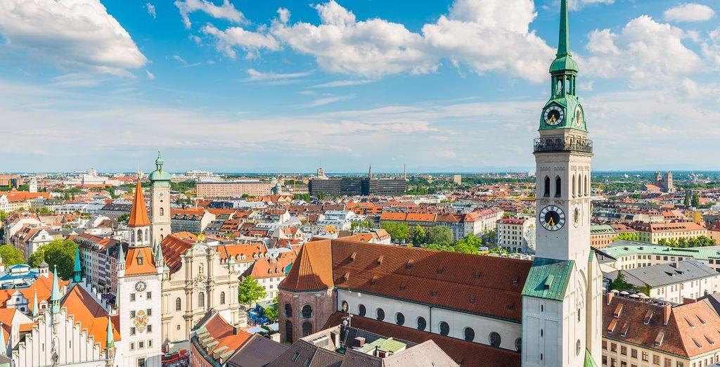 München zelf heeft een leuke binnenstad