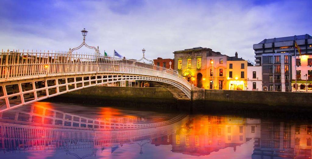 Uw reis begint in het prachtige Dublin