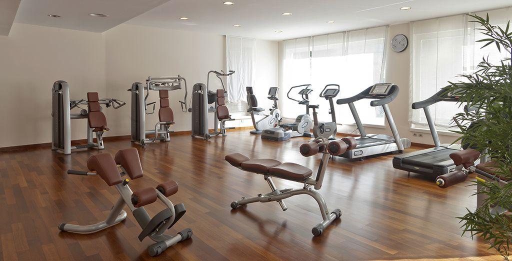 Blijf in vorm in de fitness