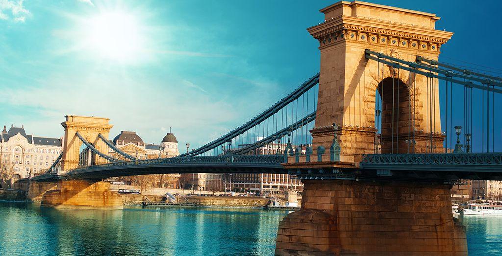 Met haar prachtige bruggen