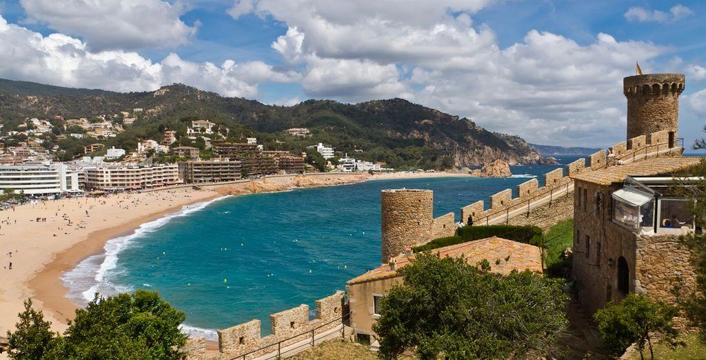Tossa de Mar heeft wel liefst 3 stranden