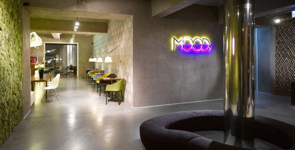 In het Boutique Hotel Moods!