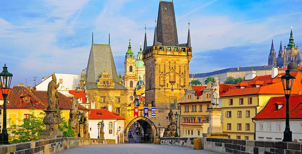 Ontdek de Karelsbrug en zijn kasteel...