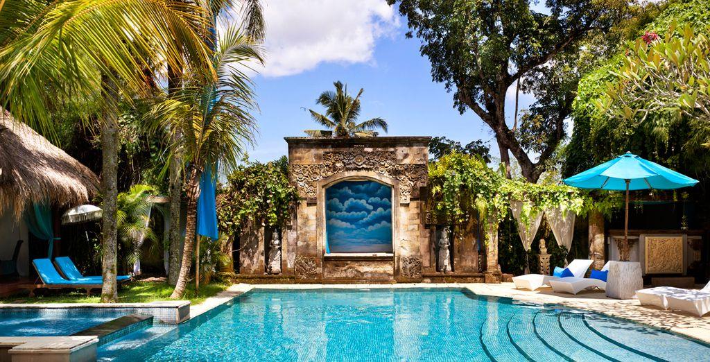 Ligt een intiem en rustig resort, The Mansion