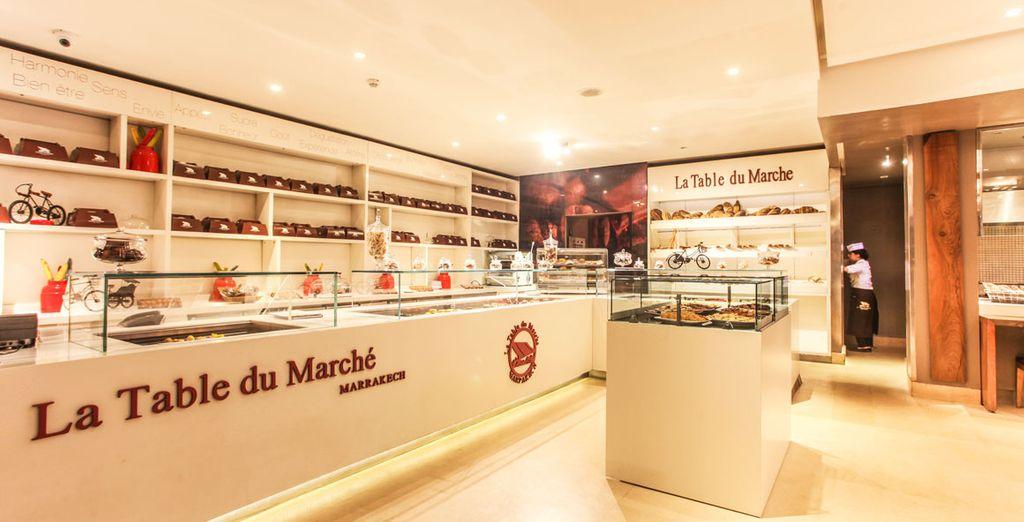 Niet te missen ... het restaurant La Table du Marché!