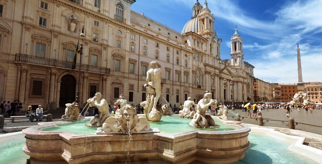 Laat u charmeren door de charme van de Italiaanse hoofdstad