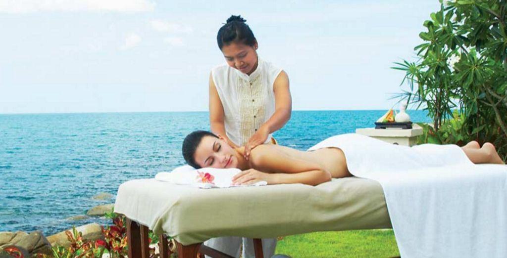 Laat u verwennen met een massage