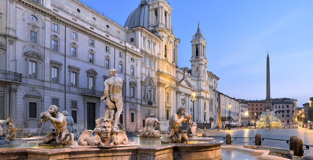 Hotel Sole Rome is maar een paar stappen verwijderd van Piazza Navona