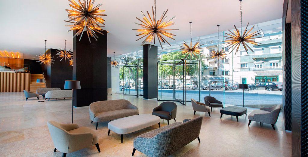 Een nieuw, modern en centraal gelegen hotel