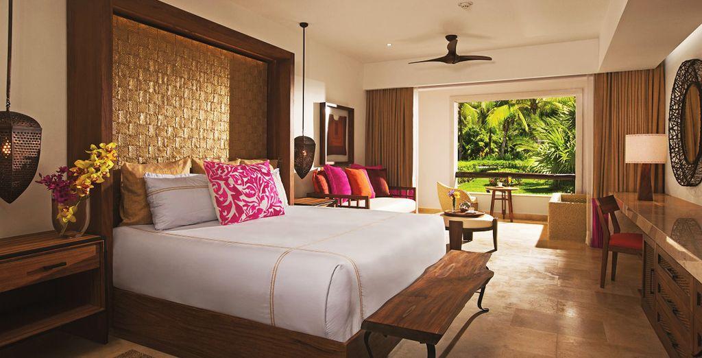 Of  in een Preferred Club Junior Suite Tropical View