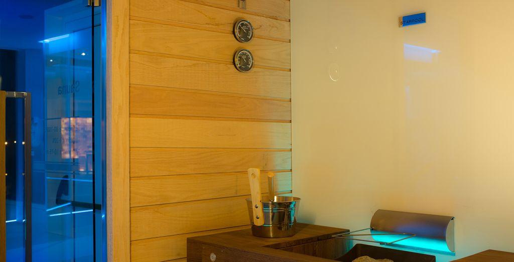 Trakteer uzelf op momenten van puur plezier met sauna's en massages