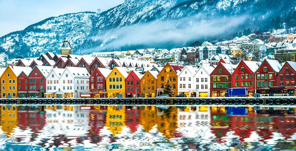 Vier nieuwjaar in het prachtige Bergen