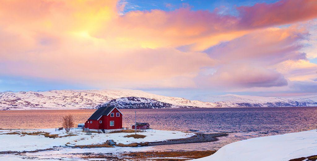 Midden in het adembenemende Noorse landschap