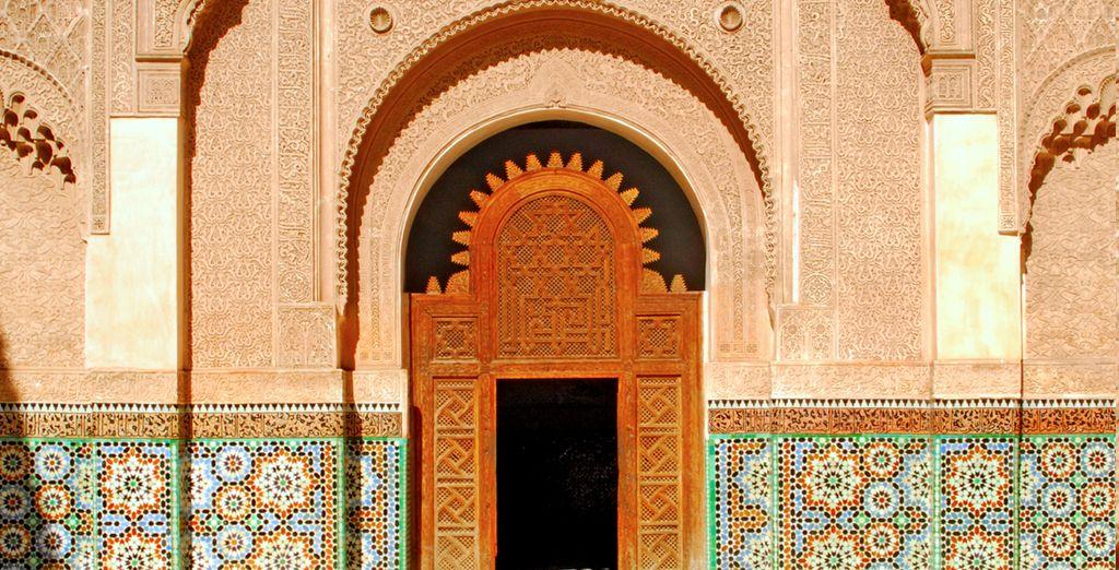 Aanschouw de Marokkaanse architectuur