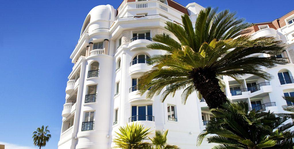 Het hotel Majestic Barrière opent zijn deuren voor u