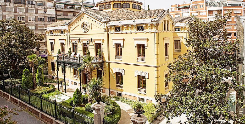 Het statige 5* Hospes Palacio De Los Patos