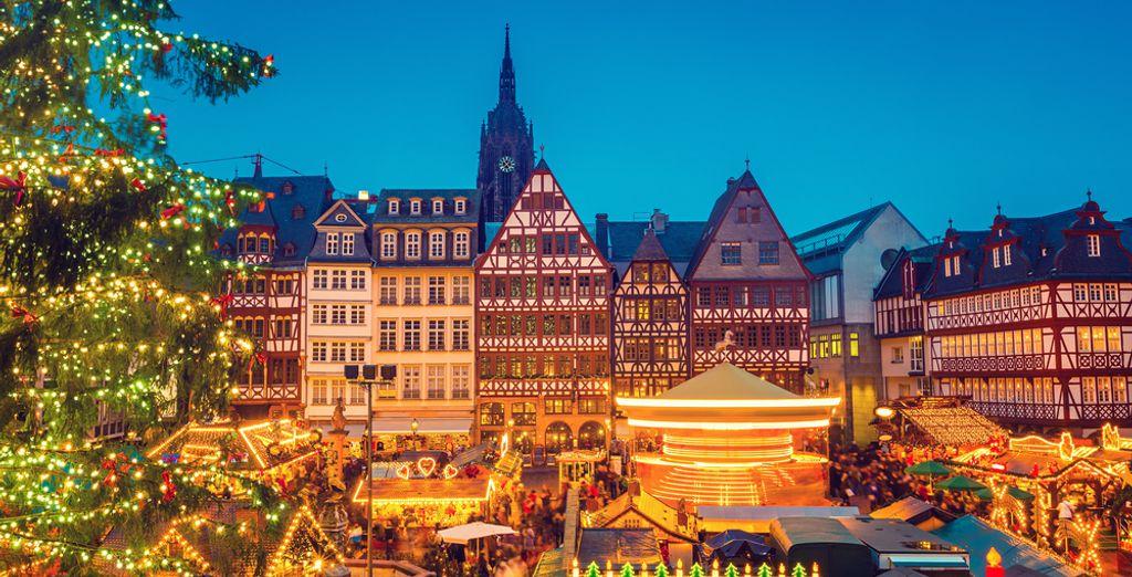 Wat dacht u van een bezoek aan Frankfurt de komende kerstperiode?