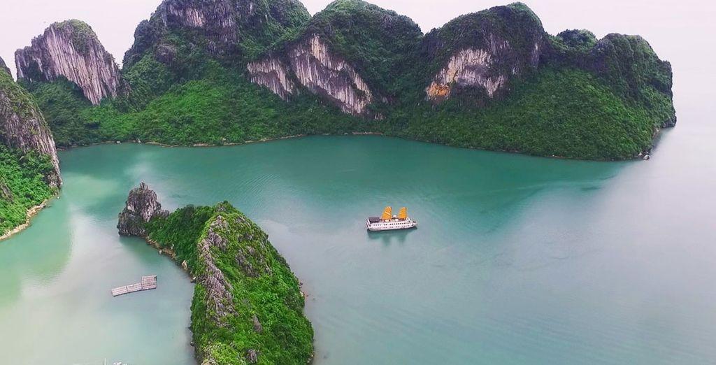 Die van Halong Bay