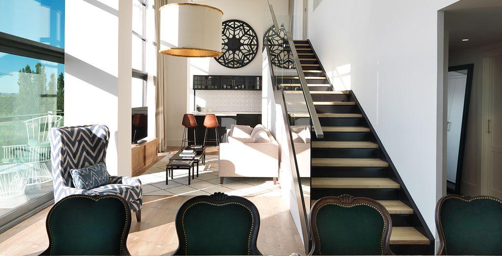 En een elegante Art Deco inrichting
