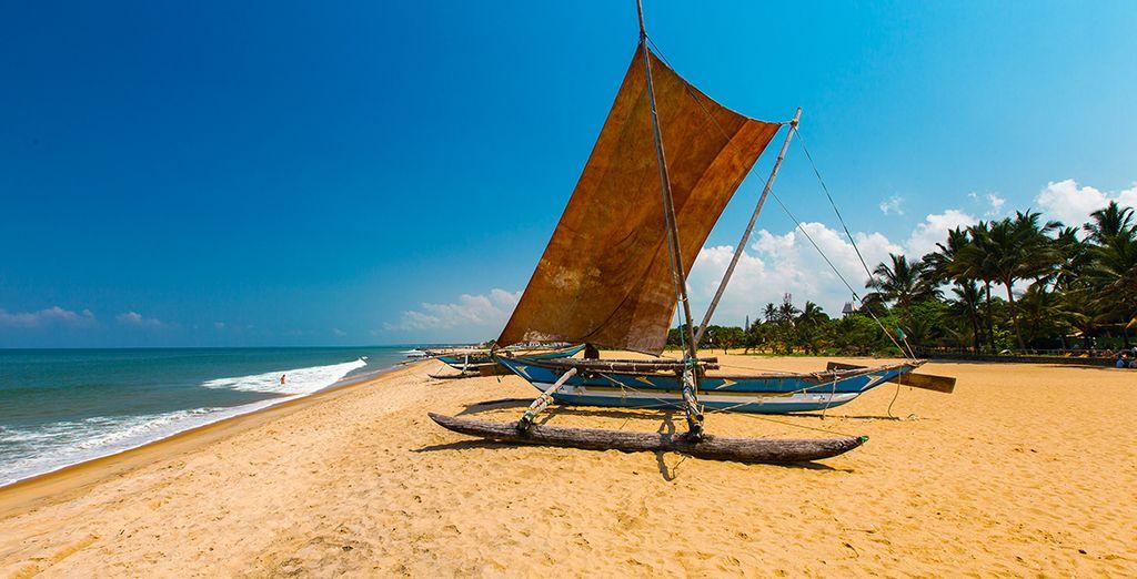 En idyllische stranden