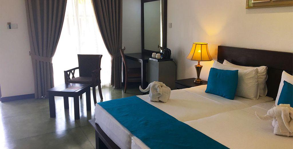 Tijdens de hele reis logeert u in comfortabele 3*, 4* of 5* hotels, volgens uw keuze