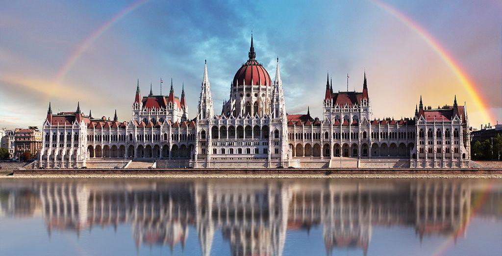 In het prachtige Boedapest !