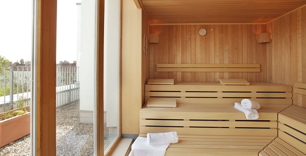 Ga lekker naar de sauna