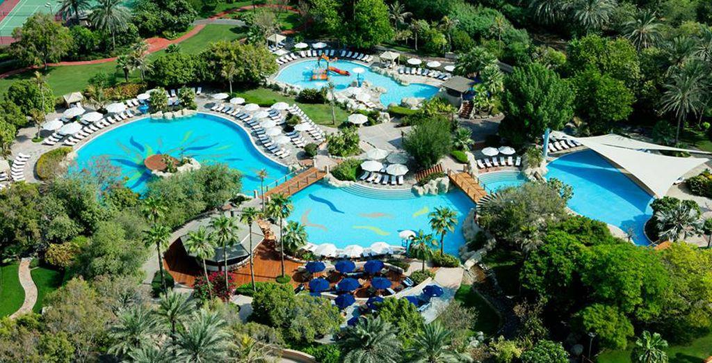 Waar u verblijft in het Grand Hyatt Dubai 5*