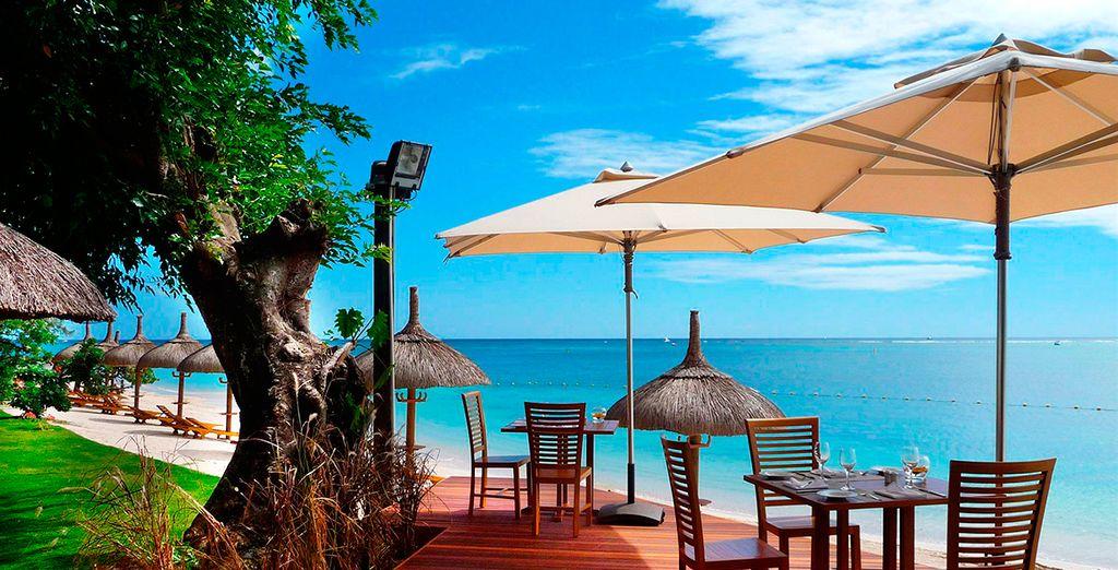 Op het prachtige eiland Mauritius in de Indische Oceaan