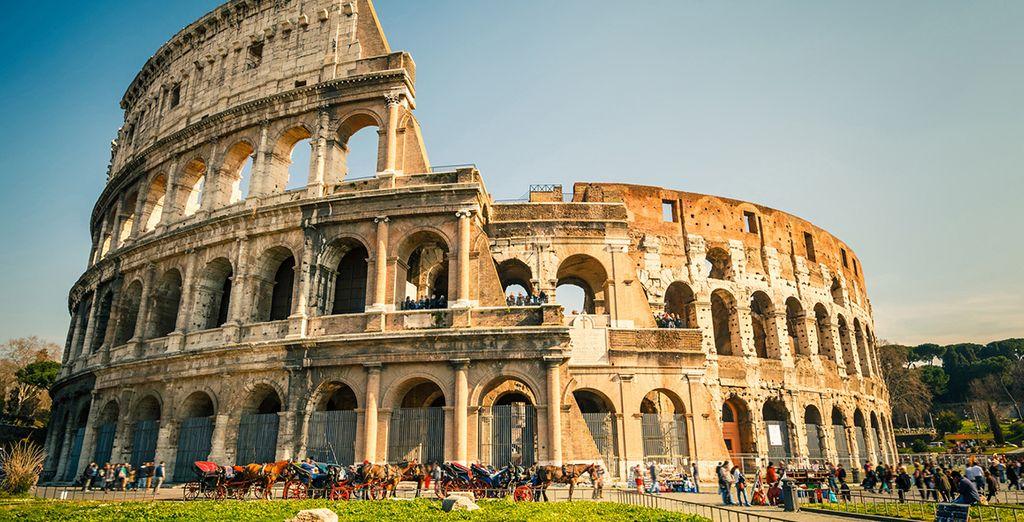 Met het majestueuze Colosseum