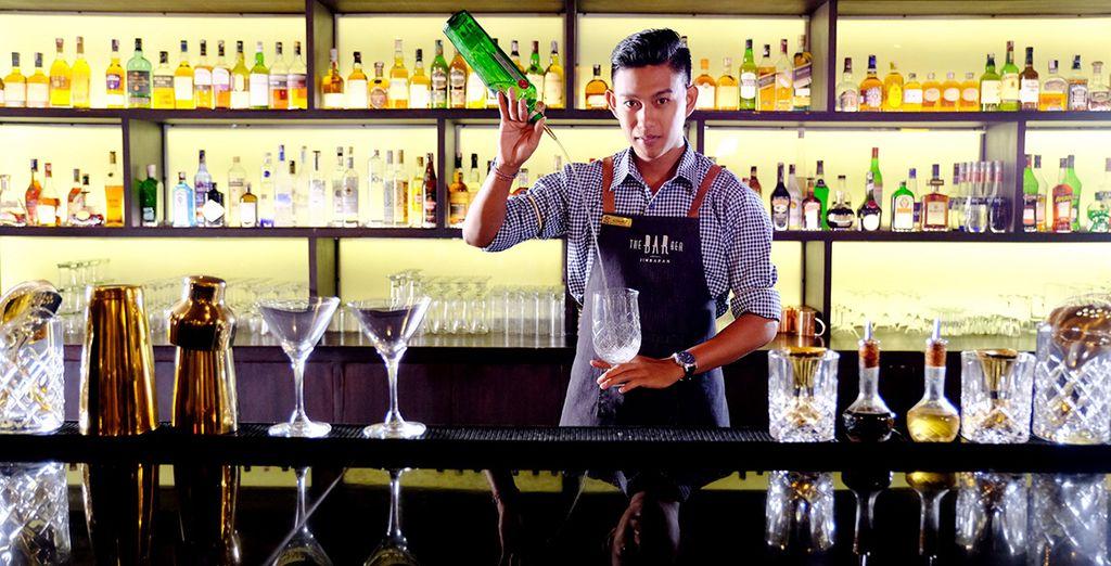 Tijd voor een lekkere cocktail!