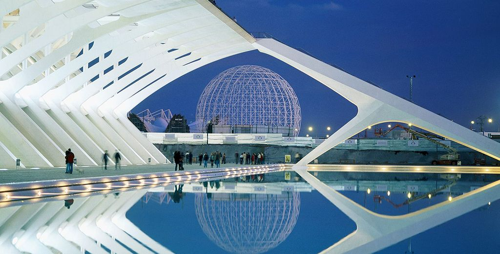 Ontdek 'The City of Arts and Sciences'!