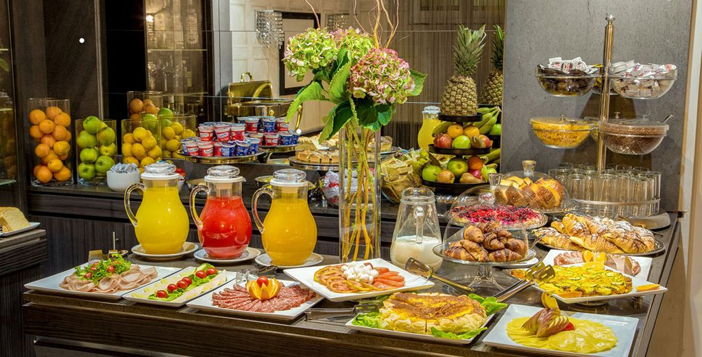Uw dag begint goed met een heerlijk ontbijt