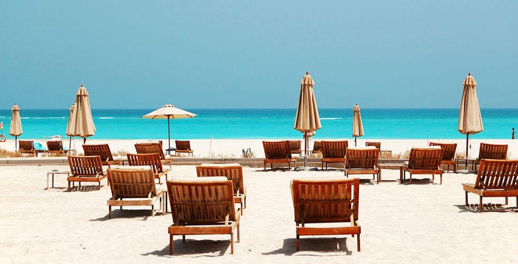 Relaxen op Corniche Beach