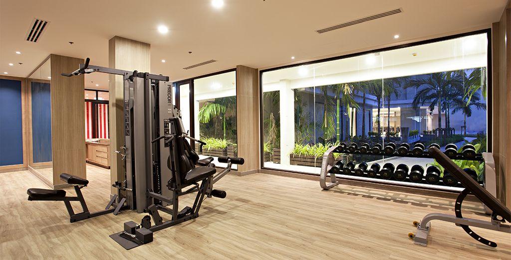 Of een work-out in het fitnesscentrum