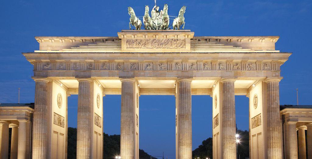 En natuurlijk de Brandenburger Tor