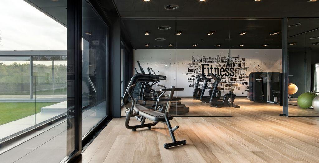 Of kies voor een sessie in de fitnessruimte
