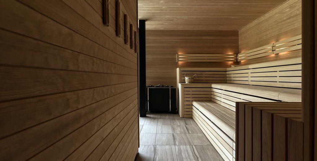 Neem de tijd voor uzelf in de sauna